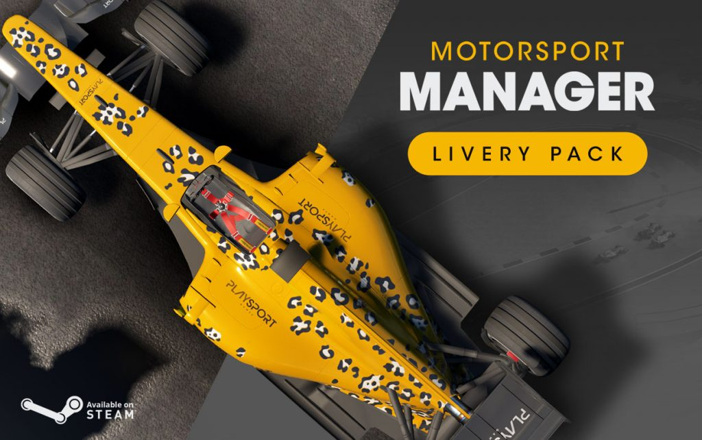MOTORSPORT MANAGER PC LIVERY PACK RELEASED