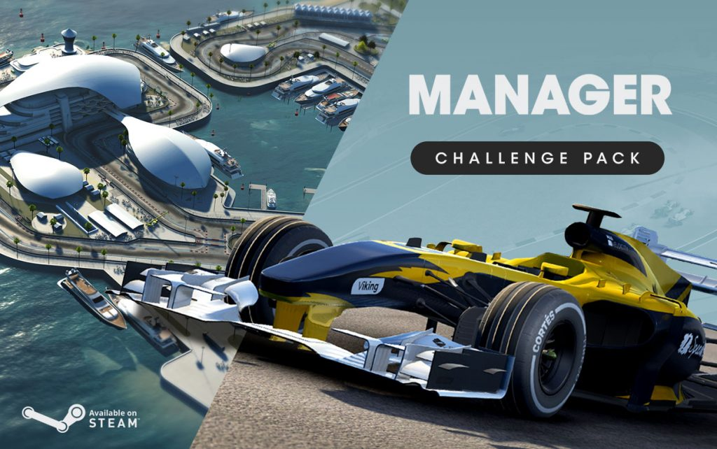Motorsport Manager PC Challenge Pack released