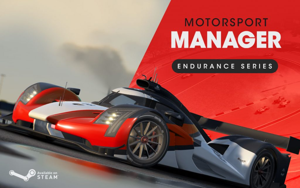 Motorsport Manager PC Endurance Series released